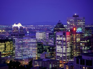 City_Lights_of_Montreal_Quebec